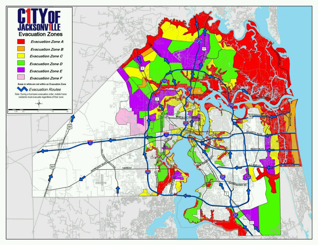 Evacuate zones A & B which includes but is not limited to the beaches cities.  Zone map attached. https://t.co/bEhR1FQ8y0