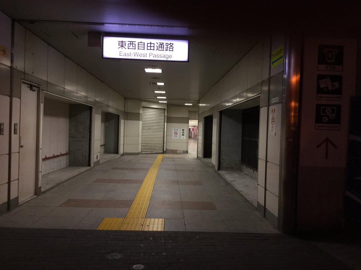 で、秋葉原駅の電気街口横の東西自由通路にあったコインロッカーが全部無くなってる件について(ぉ  #akiba https://t.co/3IiQOezrEy