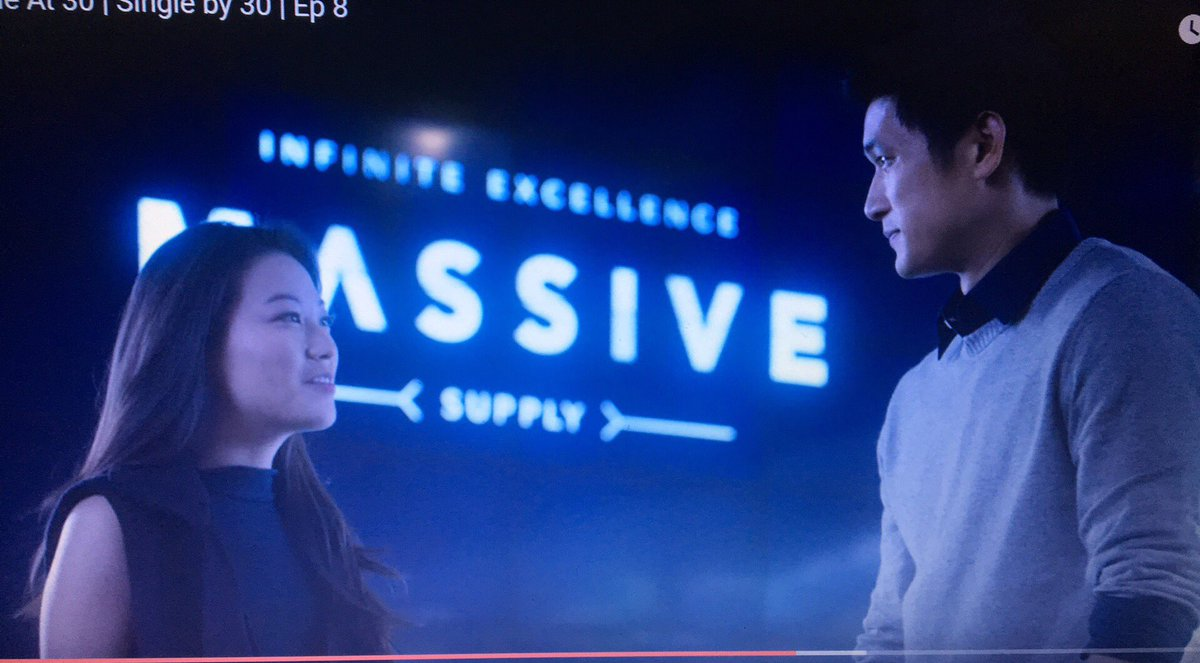 Two of my favorite actors ❤️ @arden_cho @HarryShumJr so happy to see you together on #SingleBy30