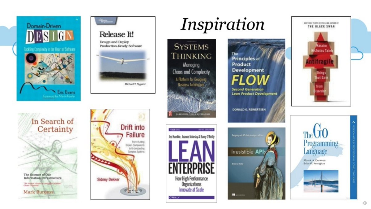 Want inspiration for Modern Enterprise? Check out this curated list of books by @adrianco https://t.co/hXDxhX0Hxi