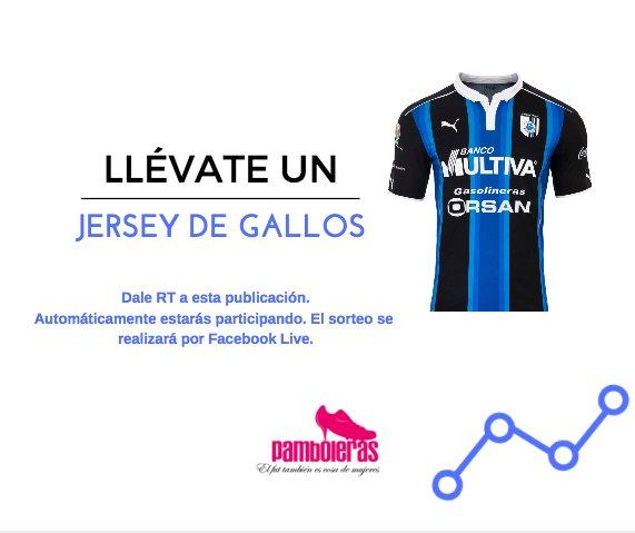 Banda, ¡estamos regalando un jersey para chava del @Club_Queretaro! https://t.co/m3SXfsctjk