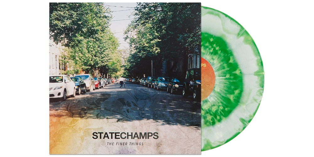 We <3 State Champs. Exclusive ltd color vinyl ($19.99) - - > https://t.co/4GFvzxP3Eb https://t.co/eYvfyZXJ4i