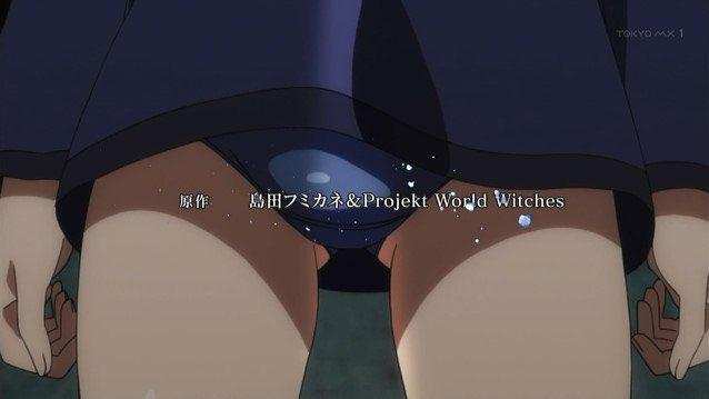 @_oniji: ビビッドアングル…ビビッドアングルやないか!ビビオペやないか!ブレイブウィッチーズ1話よりというかブレ