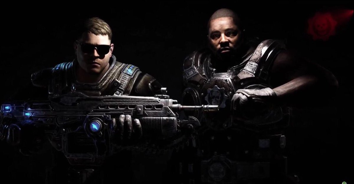 First look at @runjewels @therealelp and @KillerMike as in-game playable characters for @GearsofWar! https://t.co/Tw46vFilNG