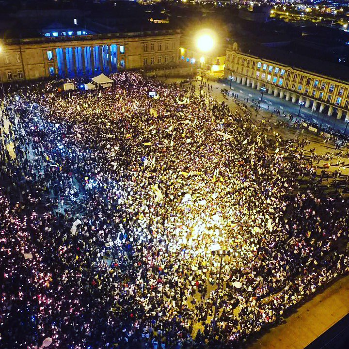 Se lució Bogotá.#sepuede https://t.co/nonAYZXRsA