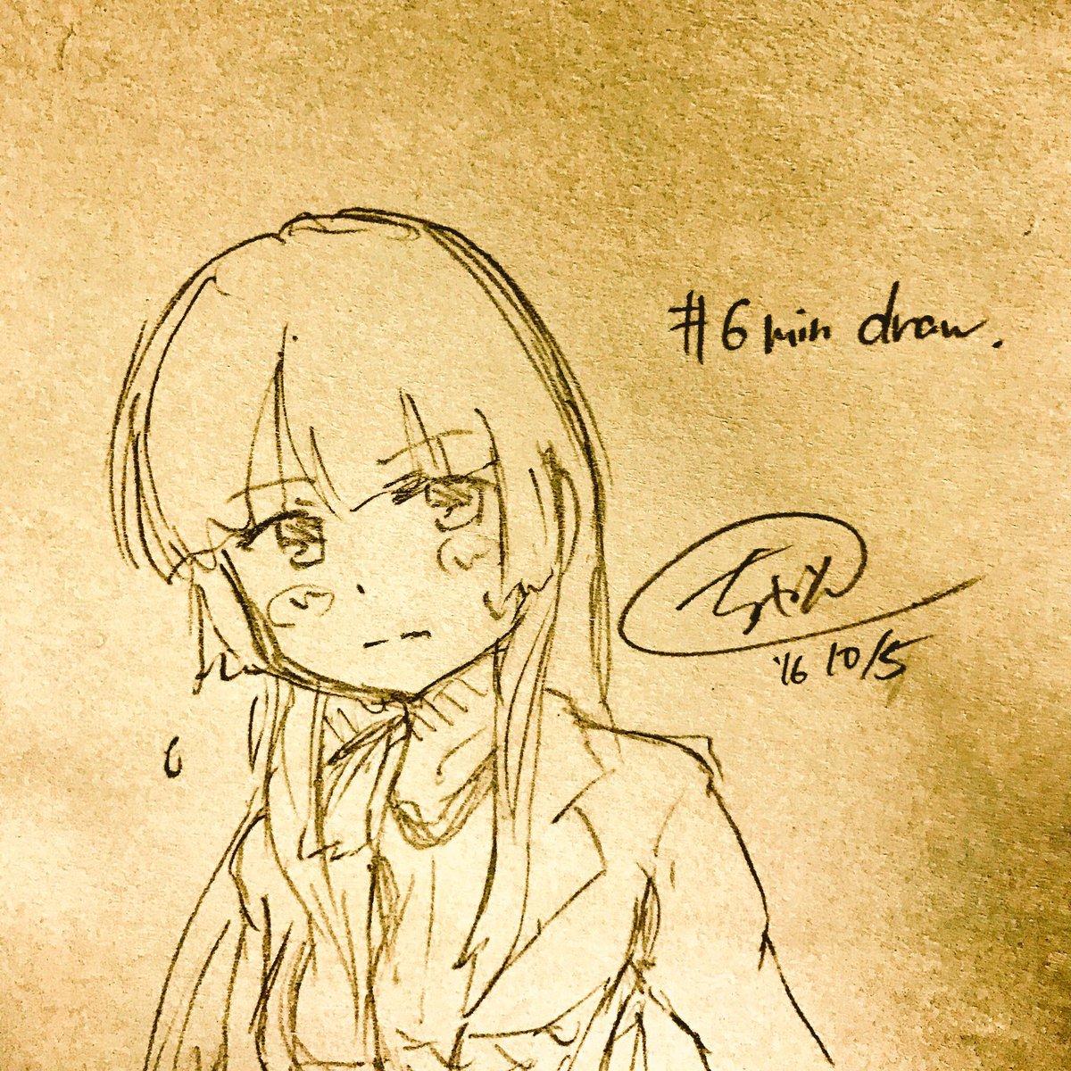 きのうときょうのそらメソ絵。スケブに応じれるくらいの速くて正確な筆さばきを身につけたいです_(:3 」∠ )_#sora