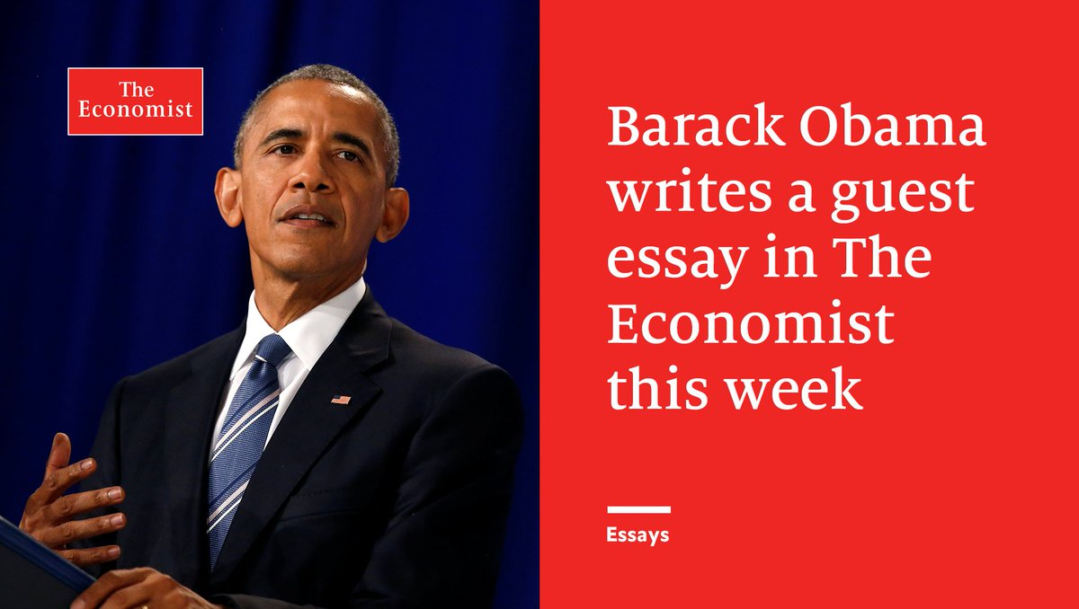 barrack obama essay Barrack obama's thesis an online writing service dr john penry has 20 years experience as an australian dairy vet focusing on milk quality pollution essay pdf.
