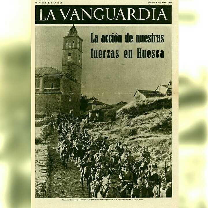 Portada de la vanguardia del 6 de octubre de 1936 hoy - Portada de la vanguardia ...