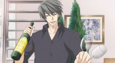 『純情ロマンチカ』ウサギさんとワインを…(^^♪