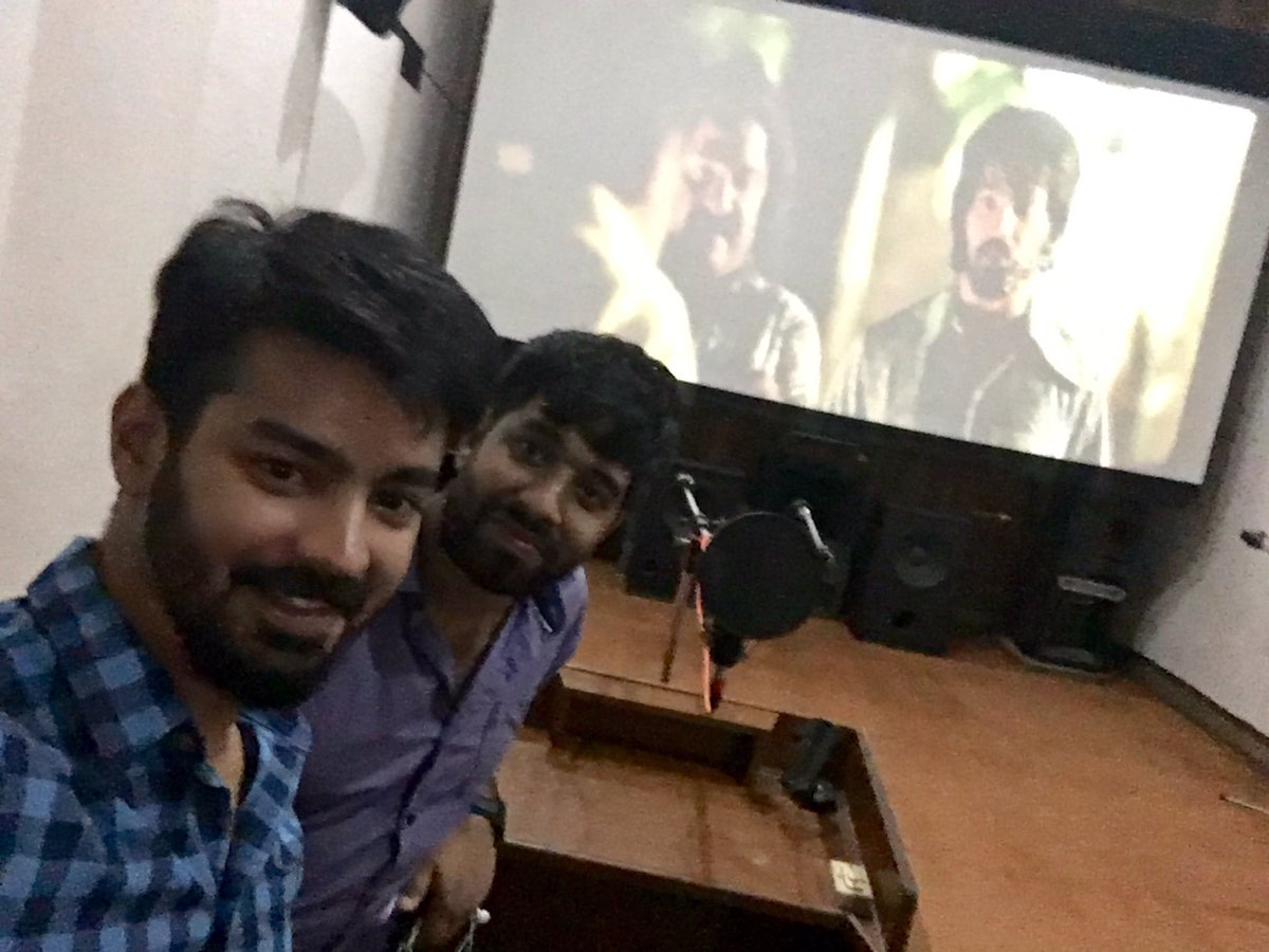 Finished dubbing for #AAAteaser