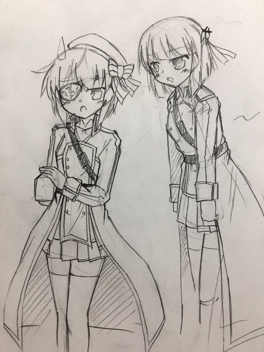 ユニとアインスだとアインスの方が身長高いイメージだけど、実際どうだろう #Ange_アニメ #AngeTCG