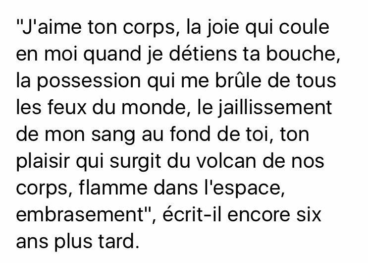 Le célèbre Lettre de françois #mitterrand à anne #pingeot (fin 1964) #afp &GP_77