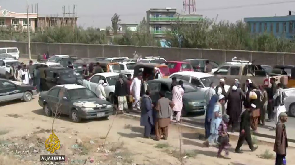 Thousands flee as Taliban advances in Afghanistan's Kunduz province