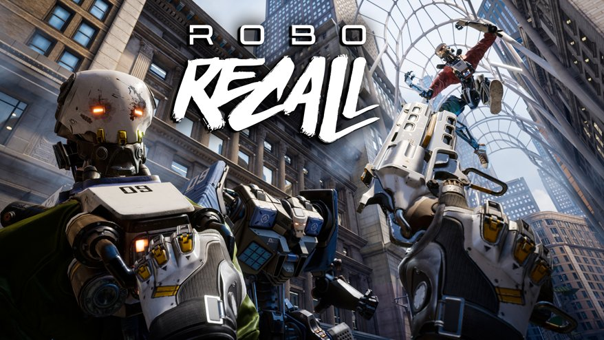 Announcing #RoboRecall, our new over-the-top VR action game for Oculus Touch! https://t.co/fnCPKfcOWK https://t.co/QngC4LPt6y
