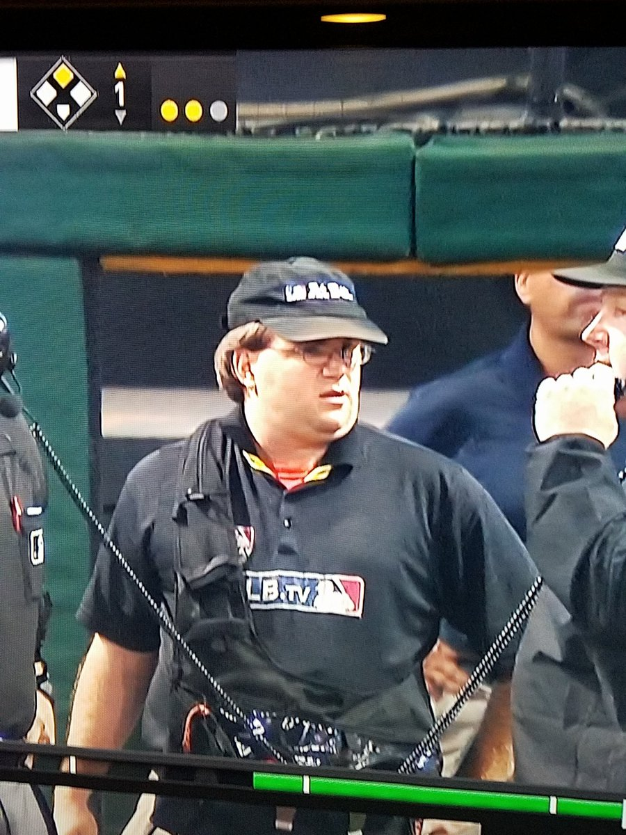 Peter Griffin and George Costanza had a child and he works for MLB #PlayoffBaseball https://t.co/Ta4u2p50jM