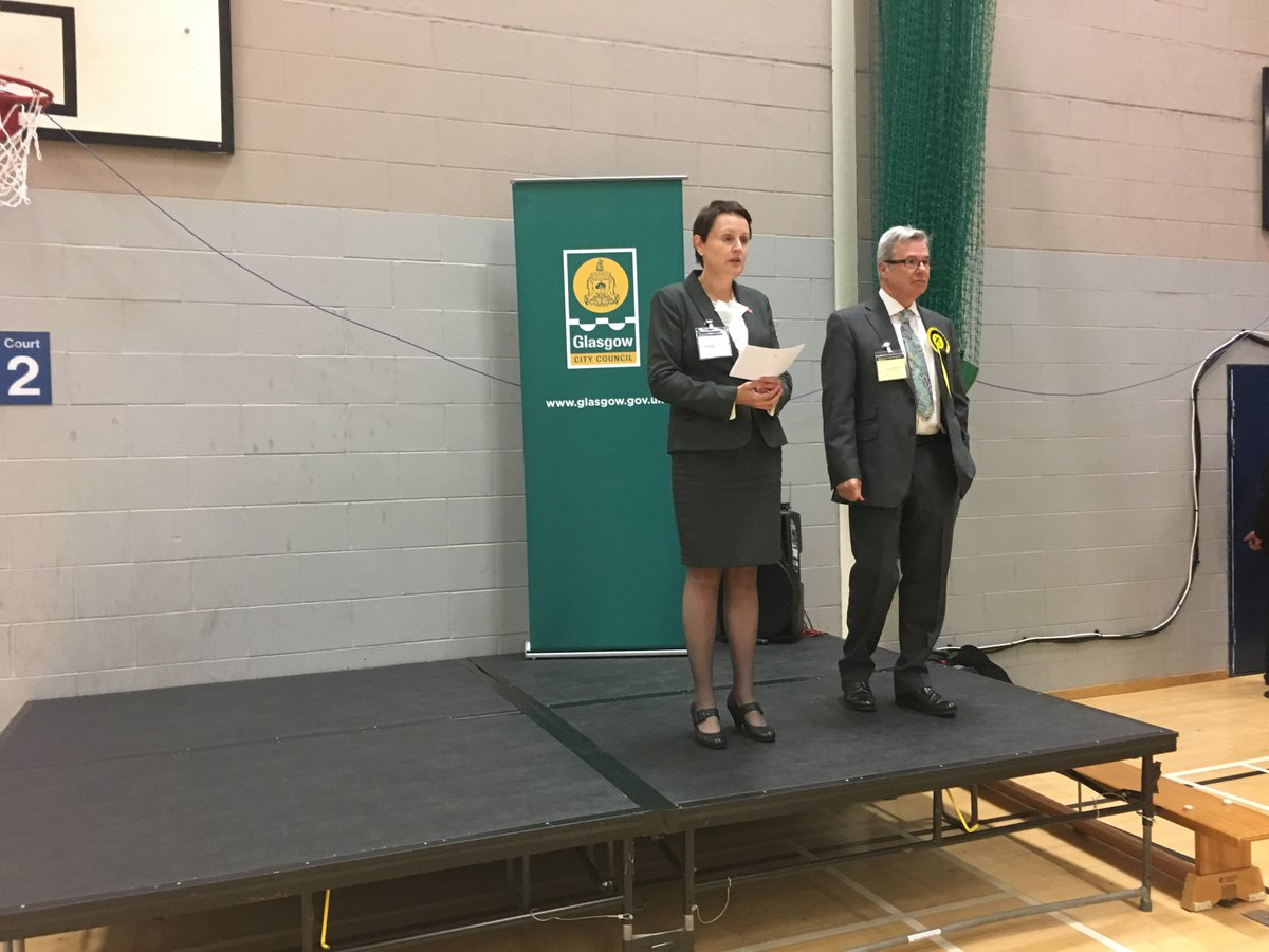 SNP wins by-election in Garscadden/Scotstounhill ward https://t.co/hZSAhwGxqs