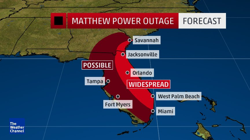 Charge Your Electronic Devices Now If You Live In E Florida In The
