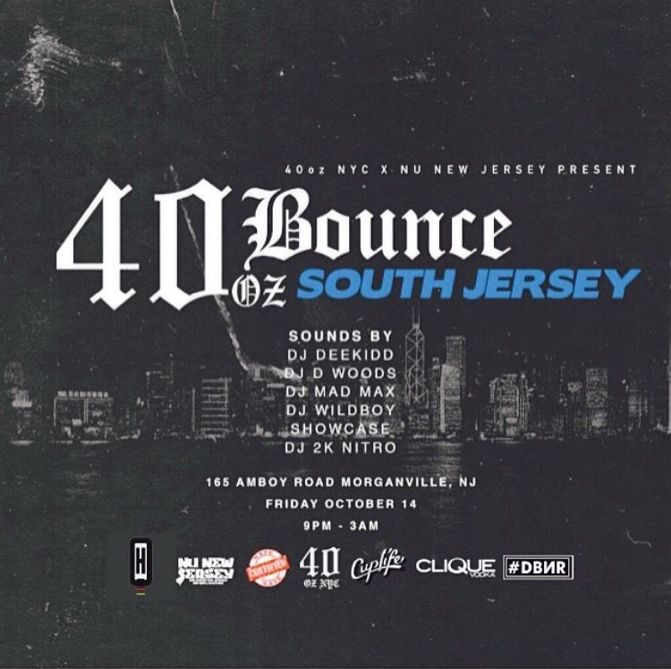 40oz Bounce Next Friday!! Oct 14th Will Be A Movieeee https://t.co/pRTfRvfp7o