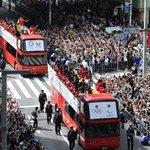Japanese Rio Olympic and Paralympic athletes parade through Tokyo
