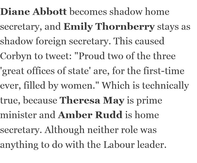 Enjoying @mattchorley's take on the Corbyn reshuffle this morning. https://t.co/Nyymuj4kvc