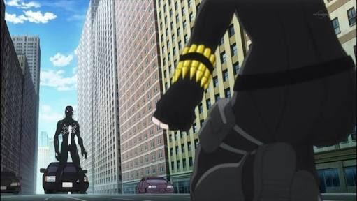 同じくヴェノムの映像化作品は色々あるんだけど、スパイダーマンとNY市民の絆、も含めて「ディスク・ウォーズ:アベンジャーズ