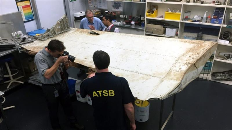 Wing part confirmed to be from missing Malaysia Airlines Flight MH370