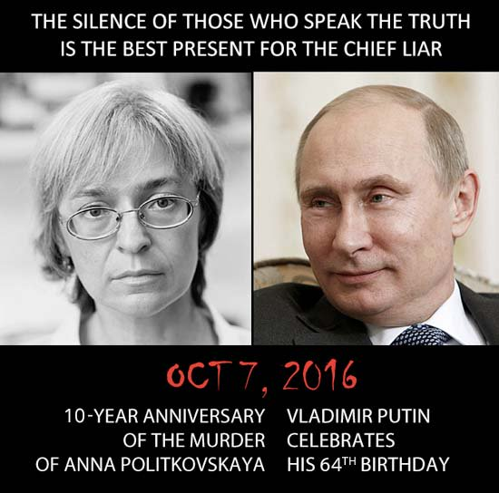 Six Powerful Quotes From Anna Politkovskaya About Vladimir Putin Tco
