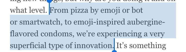 Totally agree with @tomfgoodwin: Innovation is in all the wrong places https://t.co/VMRJ0iawTY https://t.co/tJzgpCdDu7