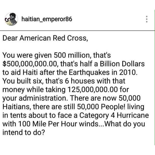 Why I refuse to donate thru Red Cross and some others. https://t.co/OEQCGlTzBv