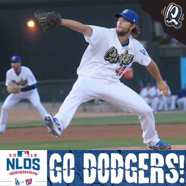 Good luck to the big club and all the former Quakes. Go @Dodgers! #LALovesOctober https://t.co/fnqGWtwQKE
