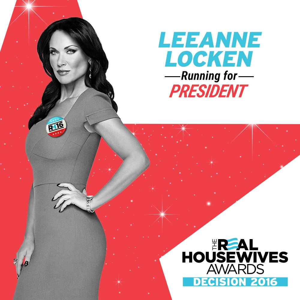 PLEASE take a minute to GO VOTE for me as PRESIDENT in the @Bravotv #Decision2016 #RHOD https://t.co/Y3W9HmafEw https://t.co/O8JJ8O2RUO