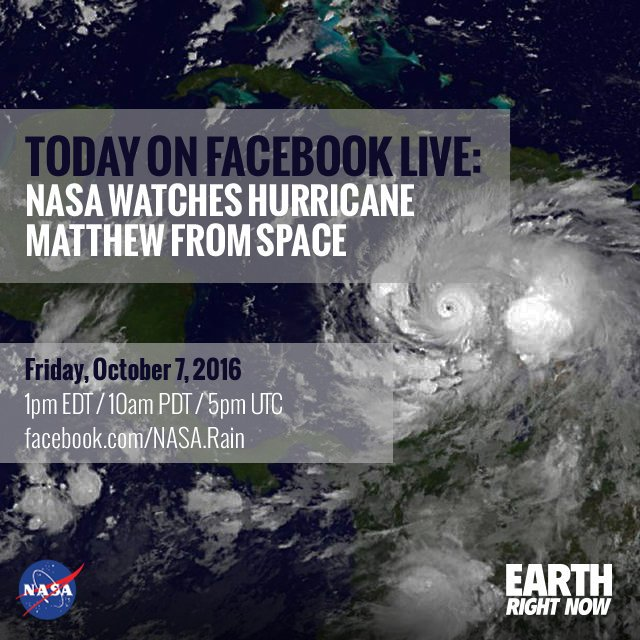 Discover the science behind Hurricane #Matthew today at 1pm ET on Facebook Live. Join us: https://t.co/wtDkW2lh6S https://t.co/8jWGKzDW0q