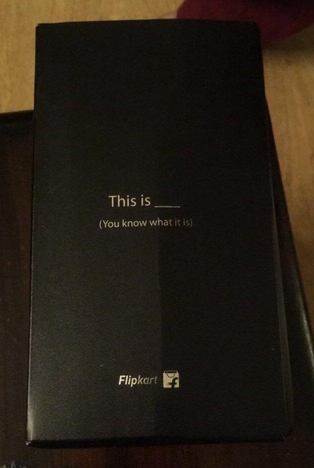 Haha yes I do. Not bad @Flipkart, not bad at all. Delivered 10:51 PM October 7th, 2016. https://t.co/Z1kN9dU2ym