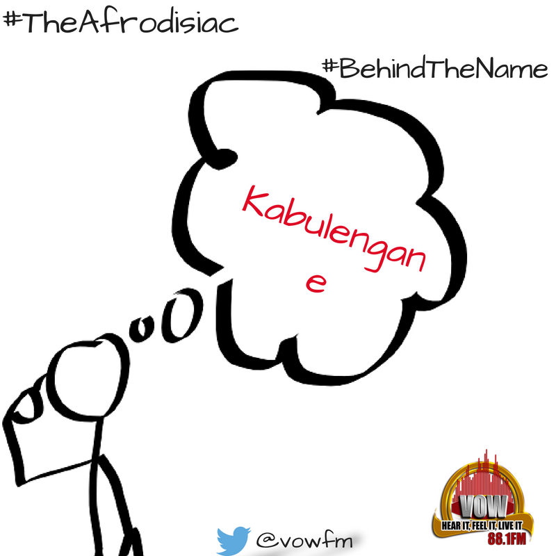 Can you guess? #BehindTheName hint hint ask @BebeCoolUG he should know #TheAfrodisiac https://t.co/ZRhkza5Fs7