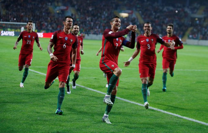 Ronaldo បាញ់ចូលសំណាញ់ទីបាន៤គ្រាប់នាំព័រទុយហ្គាល់ទទួលជ័យជំនះយប់មិញ