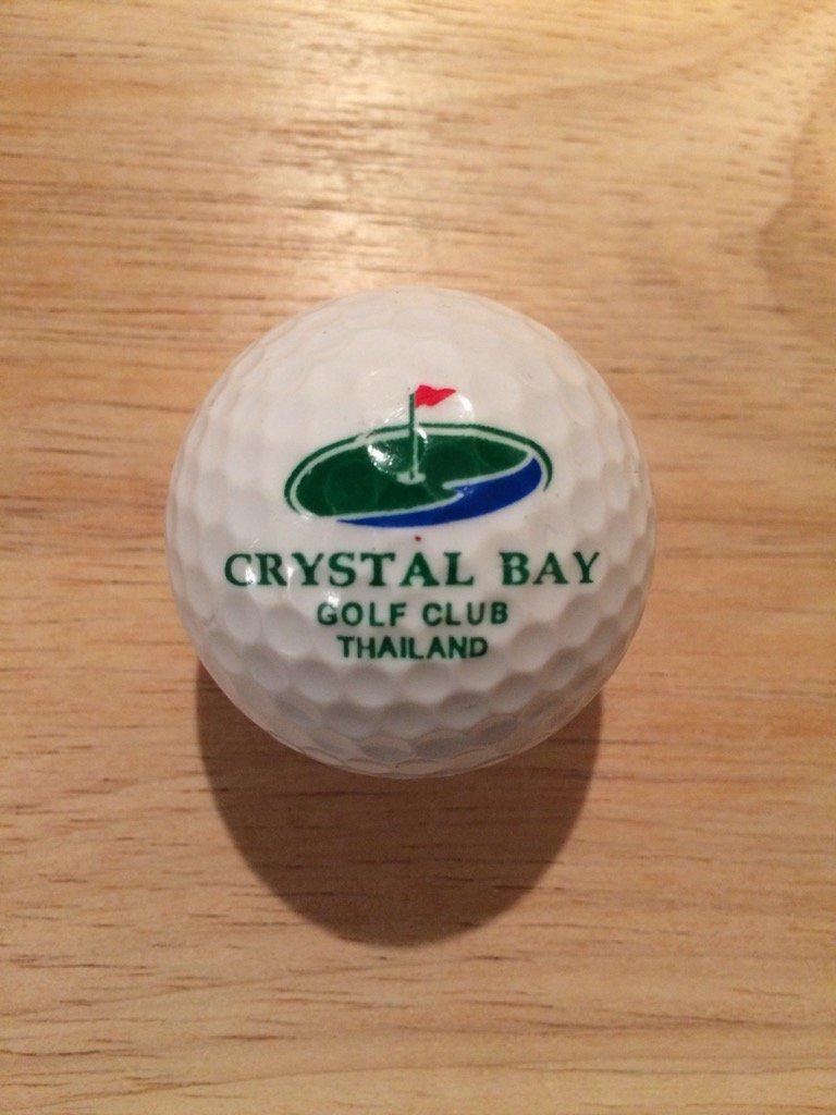 ⛳️ Logo Of The Day ⛳️ A Crystal Bay Golf Club #Thailand #logo #golf ball added! Thanks to @parkertony10 https://t.co/2G8DSKKZvJ