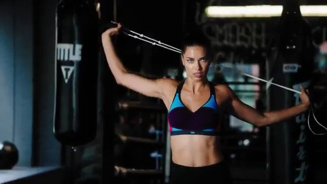 Strong. Is. Sexy. The one & only @AdrianaLima! ???? #TrainLikeAnAngel https://t.co/Moz85Ejrmb