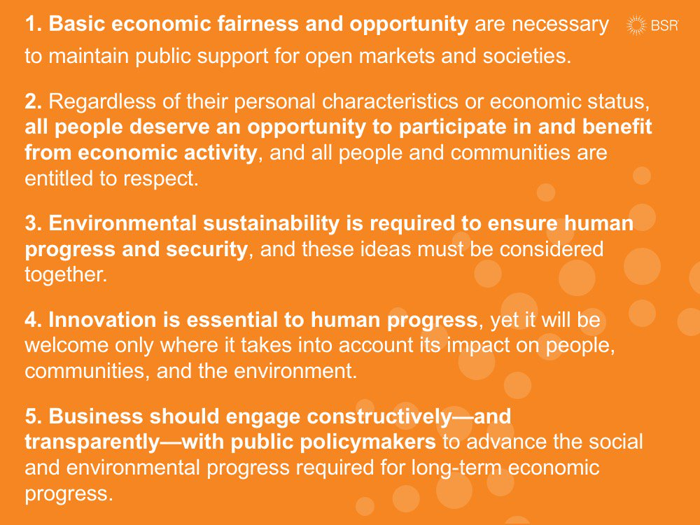 .@aroncramer calls on us all to recommit to 5 core values that underpin the drive for a just and sustainable world. https://t.co/ulyLmeSOmN