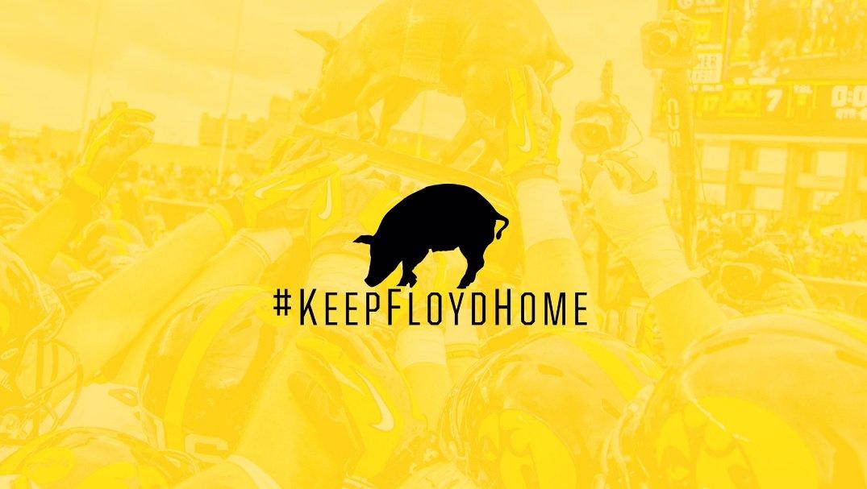 Let's Go Hawks! I'm ready for some @HawkeyeFootball tomorrow! #KeepFloydHome https://t.co/GaErAZWTb6