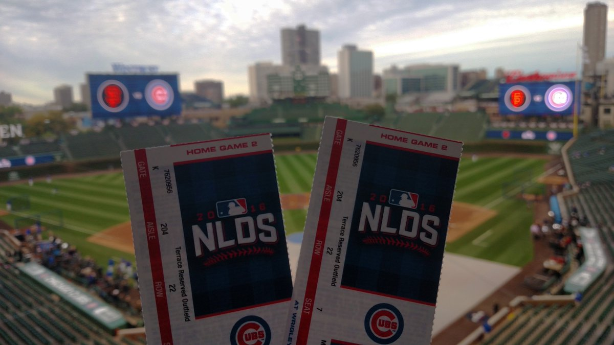 Need tickets to #NLDS Game 2? We've got a pair just for you!  RT for your chance to win! https://t.co/MdZoyeUfVQ