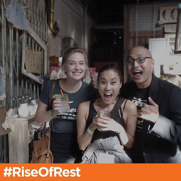 Here for the #riseofrest shenanigans. Woo! #yesphx https://t.co/3eTeuYawAX