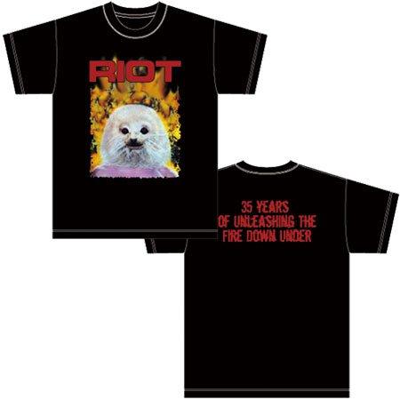 【悲報】RIOTのクソダサアザラシTシャツ先行分完売 https://t.co/ONi6CY7Az7