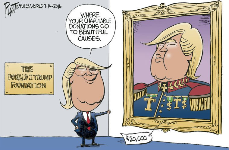 Self Portraits are not tax deductible Donald ... #NoTaxesNoTrump https://t.co/bGxSo5MlXR