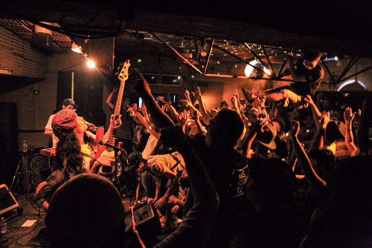 STOCKMANTOYOTA ROCK FESTIVAL10/9(sun) ONE LOVE STAGEにて12:10か