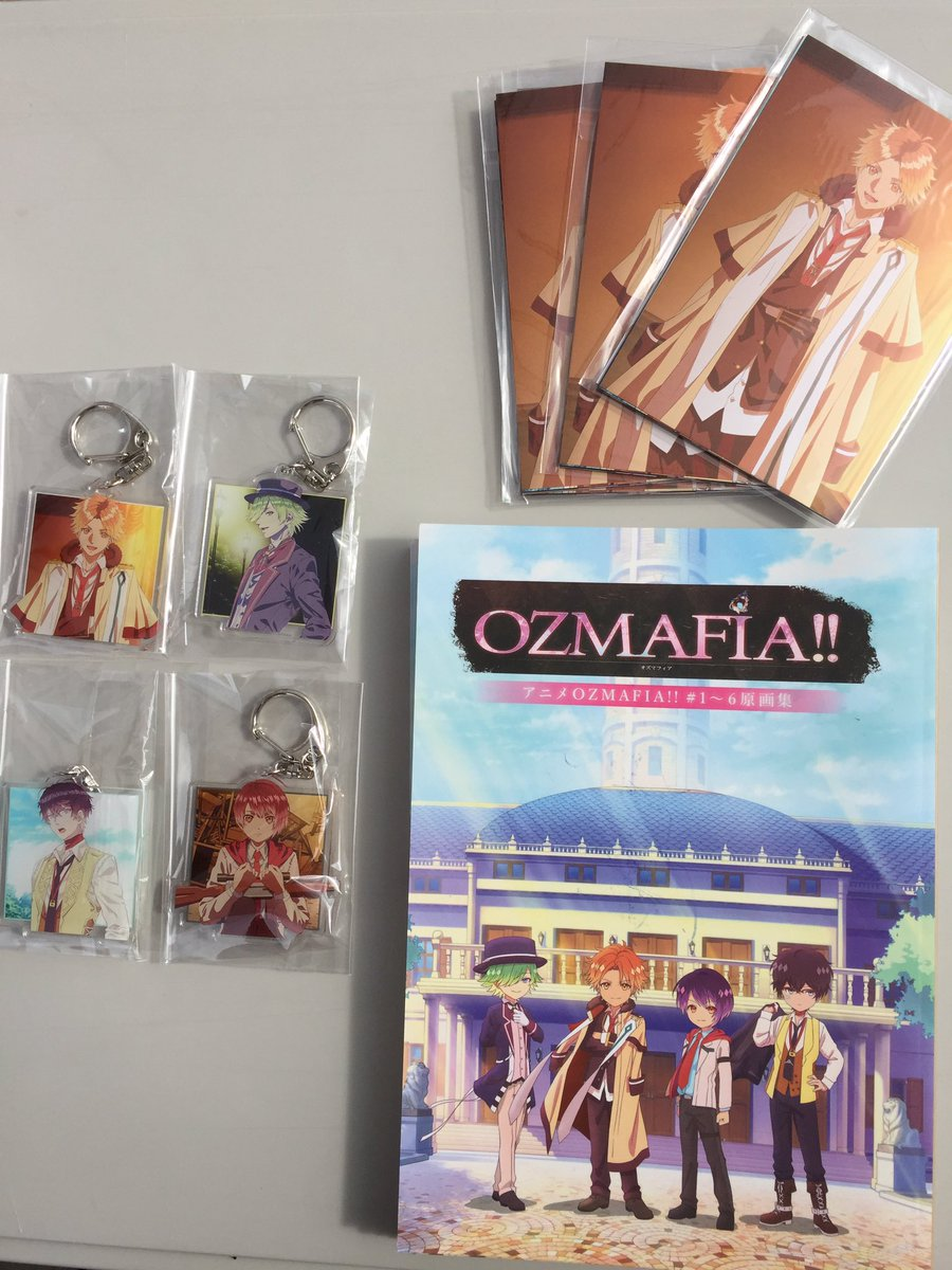 【Creators in Pack物販情報④】TVアニメ『OZMAFIA!!』からはアクリルキーホルダー4種(各800円