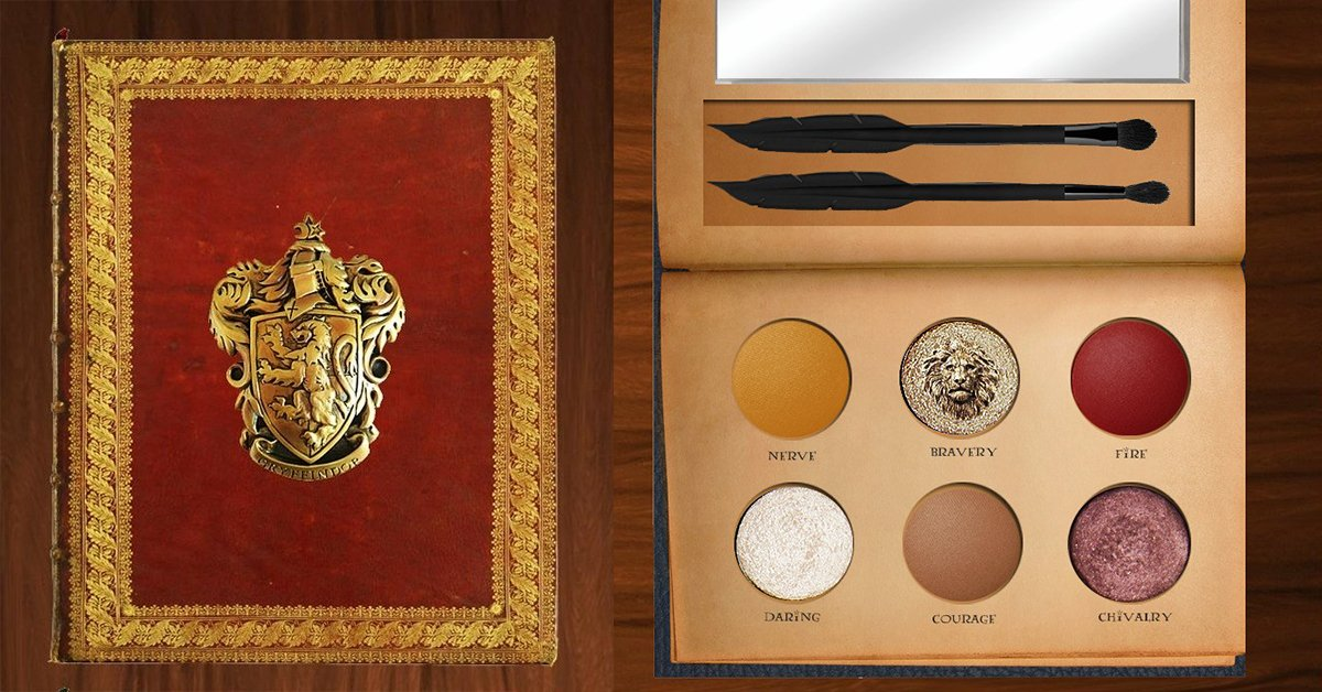 someone needs to accio these harry potter makeup palettes to sephora asap our muggle hearts can