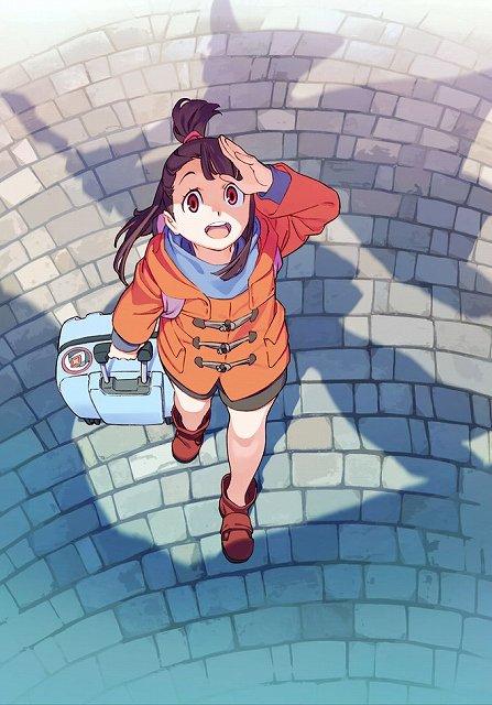 『リトルウィッチアカデミア』TVアニメシリーズが2017年1月より放送決定。最新ビジュアルにはルーナノヴァ魔法学校を訪れ