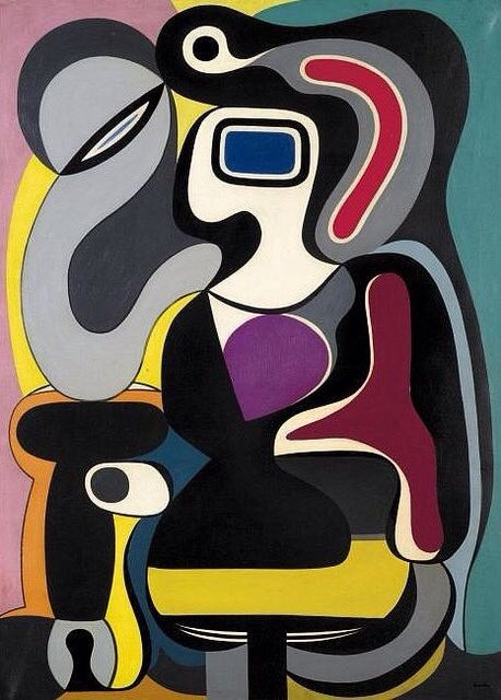 Auguste Herbin (1882–1960 French) 'Composition' 1928 #art I love #abstract https://t.co/wj3jivpI0R