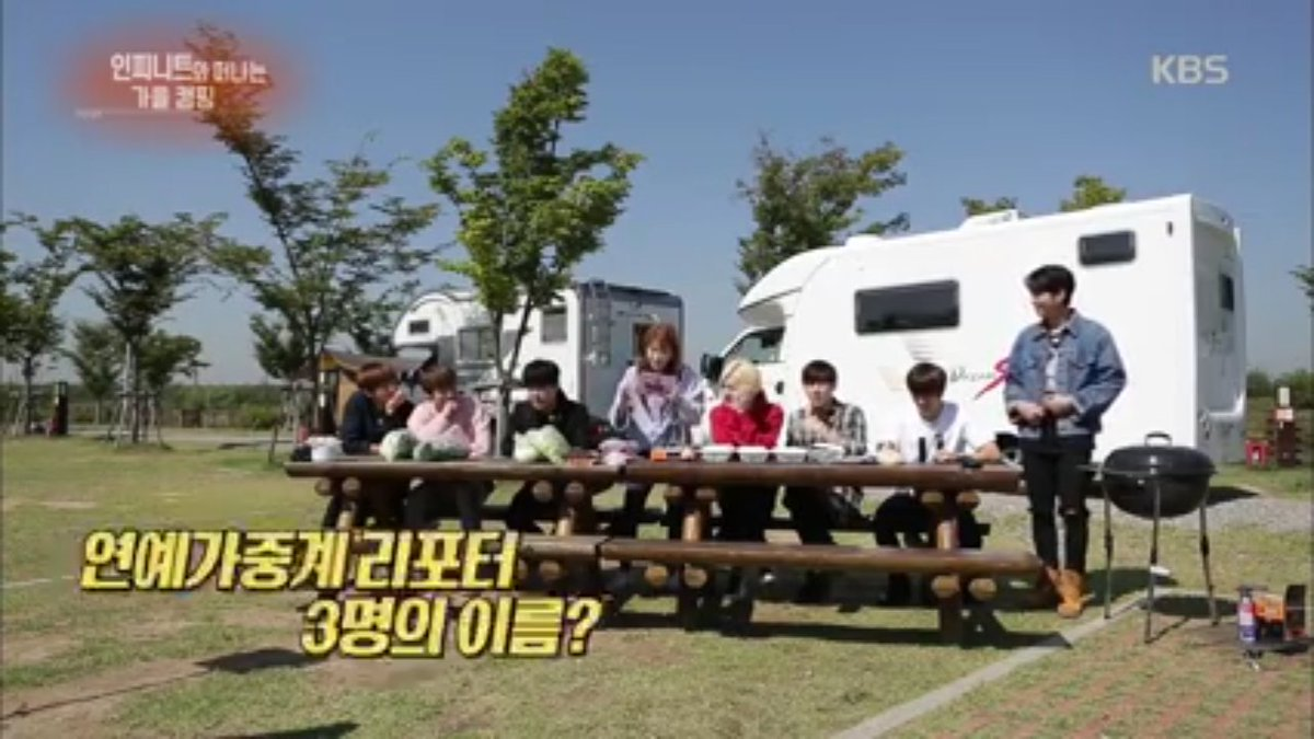 [OFFICIAL VIDEO] 161008 KBS Entertainment Weekly - Camping Trip with #인피니트  https://t.co/HetnYCr1Dj https://t.co/n2o6Mgw0TZ