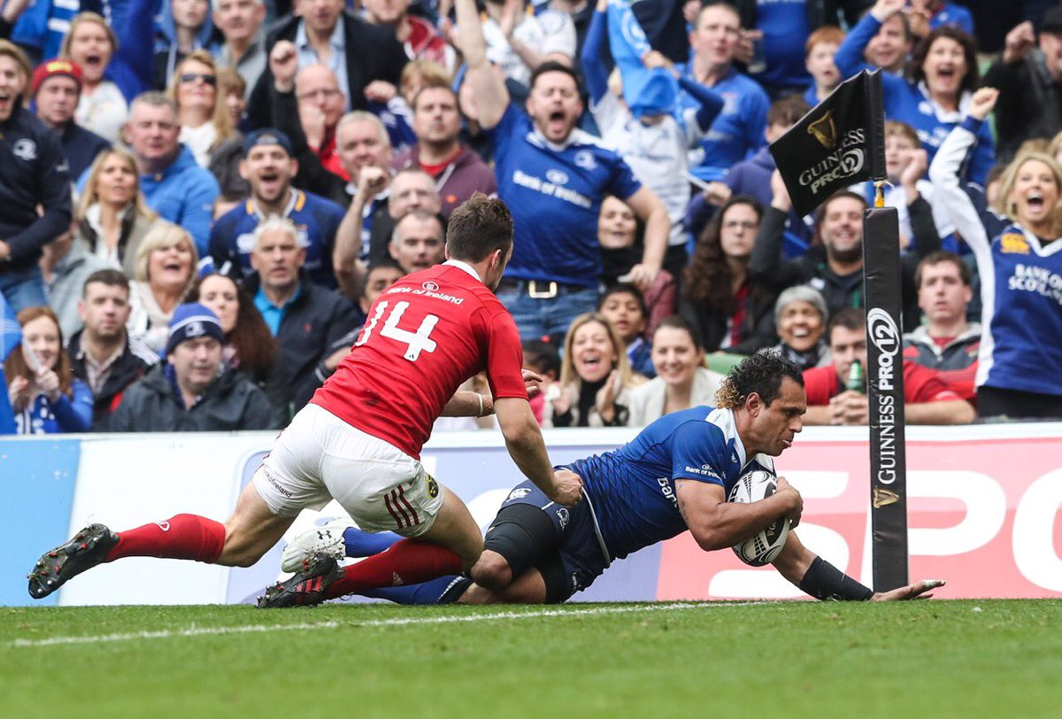 Well done Leinster, big win over their rivals. Sets them up on the road to #pro12rugby greatness #LeinsterBlue https://t.co/pVrqgrUwUs